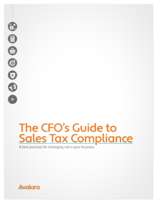 CFO Guide to Sales Tax